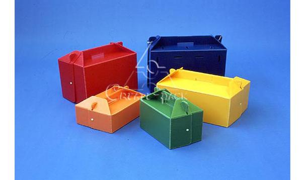 手提式包装箱——利用结构